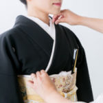 結婚式の着物_黒留袖_ic