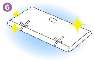 洗える着物の洗い方06_たとう紙に包んで保管